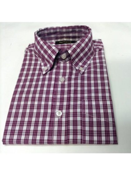 Sherrys Classic Button Down Burgundy Shirt
