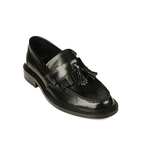 IKON Tassel Loafers Black
