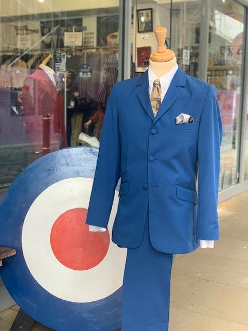 Royal Blue Tonic Suit
