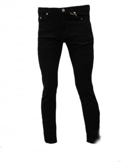 Skinny Fit Black Denim Jean