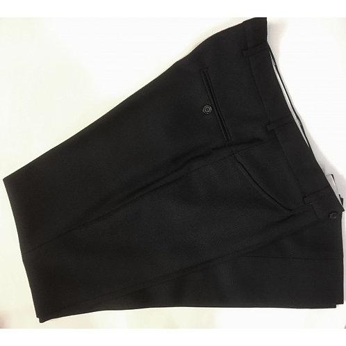 Sherrys Classic Birdseye Wool Suit Trouser Navy
