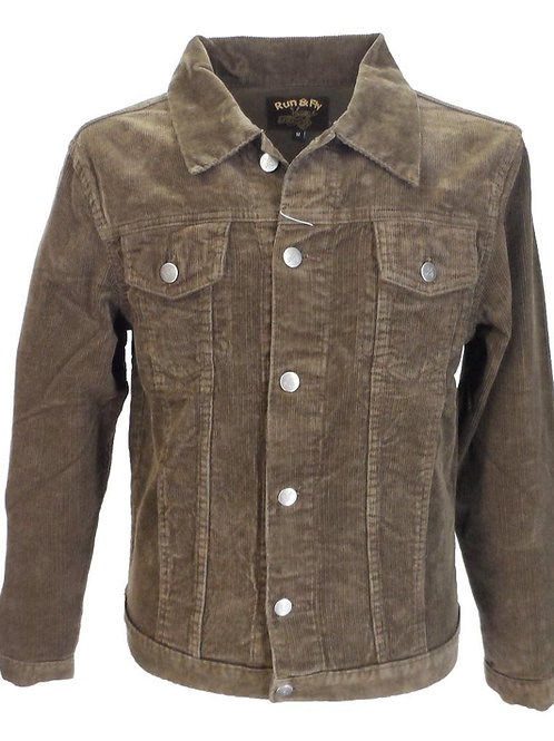 Classic Cord Jacket - 'Rubber Soul' Brown