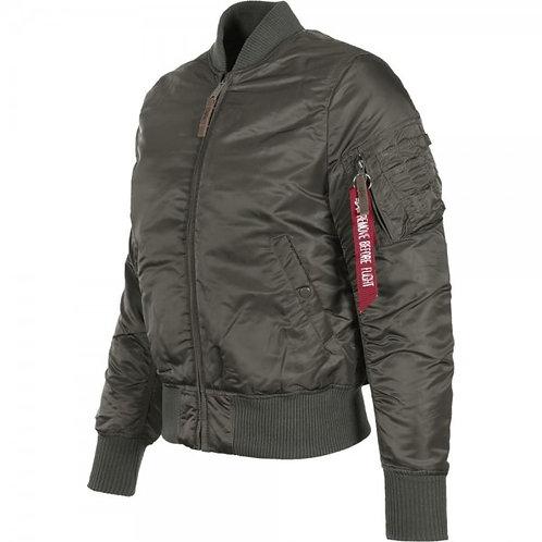 Alpha MA1 Flight Jacket - Rep Grey
