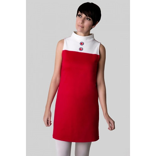 Sherry's 60's Vintage sleeveless turtleneck dress