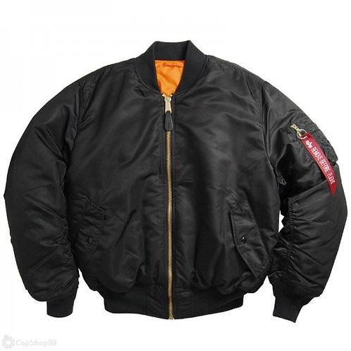 Alpha MA1 Flight Jacket - Black