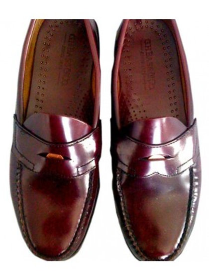 Women's Bass Weejun Penny Loafers Oxblood