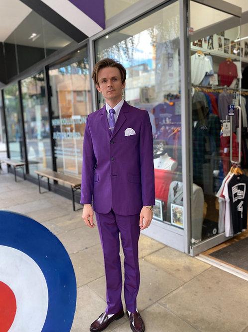 Sherry's Purple Tonic Suit