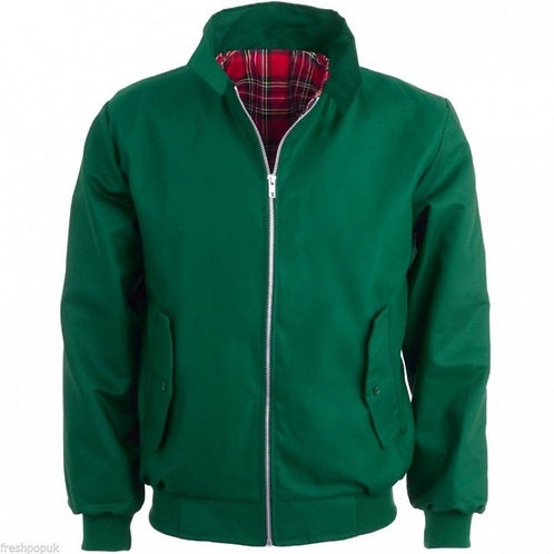 Classic Green Harrington Jacket