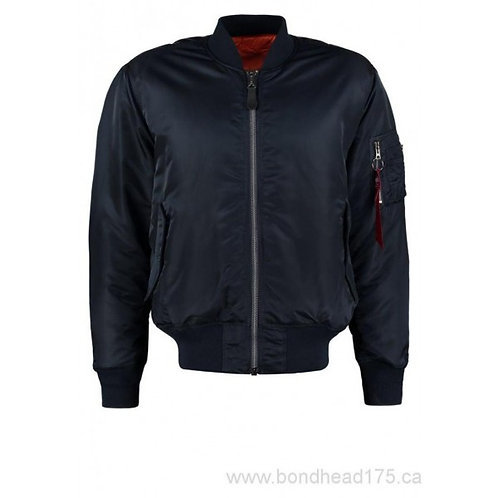 Alpha MA1 Flight Jacket - Rep Blue