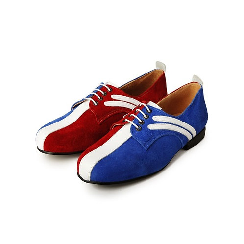 Badger Shoes Red/White/Blue