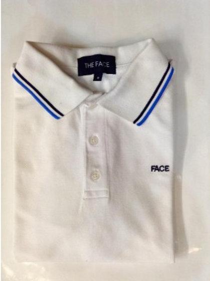 White Face Polo Shirt