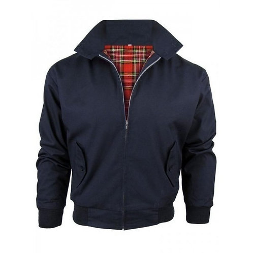 Classic Navy Harrington Jacket