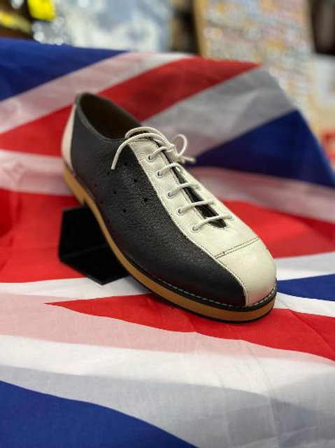 Sherry's Bowling Shoes - Black and White