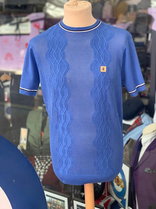 Gabicci 'Newman'Crew-neck knit - royal blue