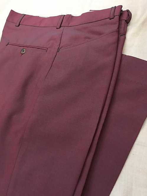Sherrys Burgundy Suit Trouser