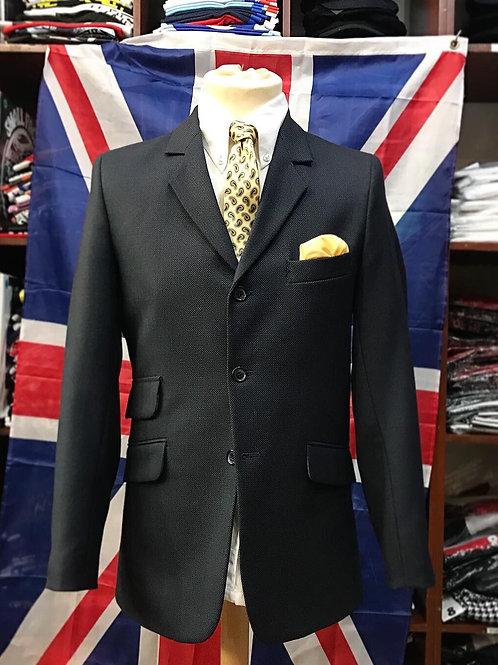 Sherry's Navy Blue Birdseye Suit