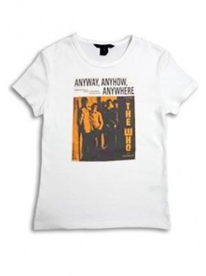 The Who 'Anyway Anywhere Anyhow' - T Shirt