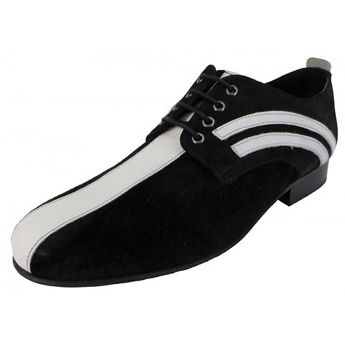 Badger Shoes Black and White