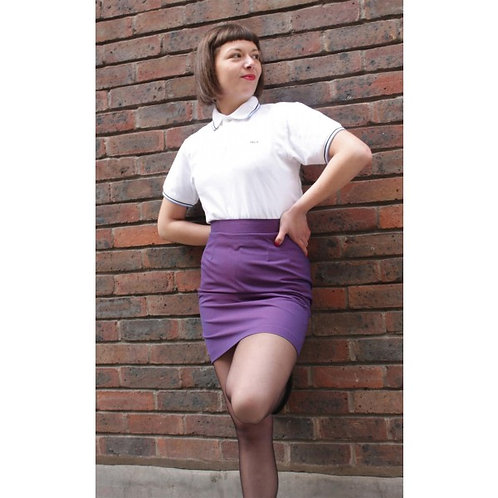 Purple Tonic Skirt