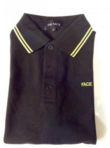 Black Face Polo Shirt