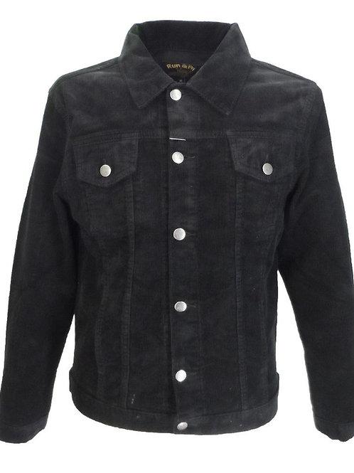 Classic Cord Jacket -Black