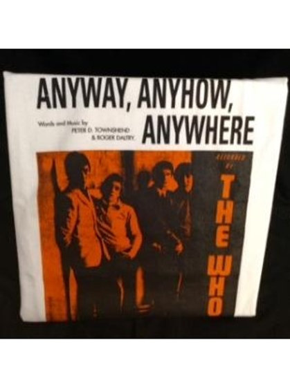THE WHO, Anyway, Anyhow, Anywhere - Men's T-Shirt