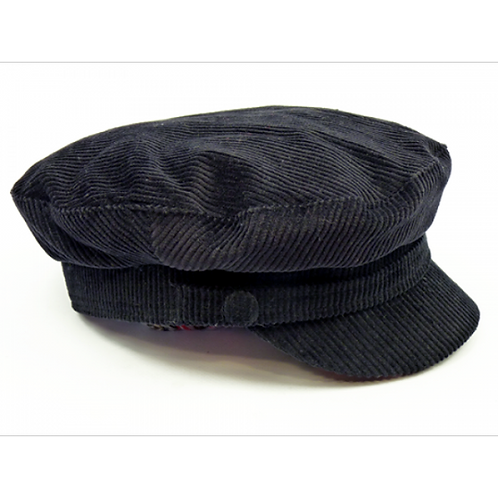 Beatles Cap Black Cord