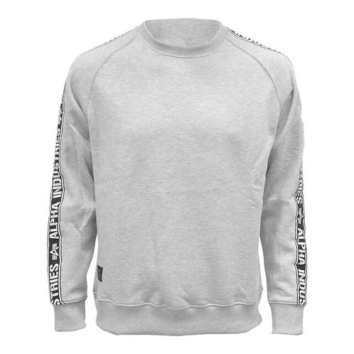 Alpha Industries Tape Sweater, grey
