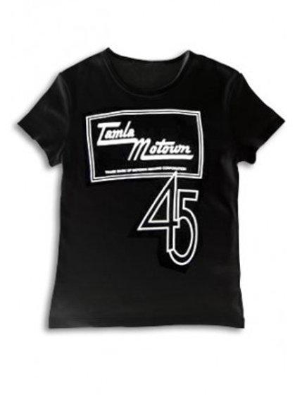 Tamla Motown 45ロゴ-メンズTシャツ