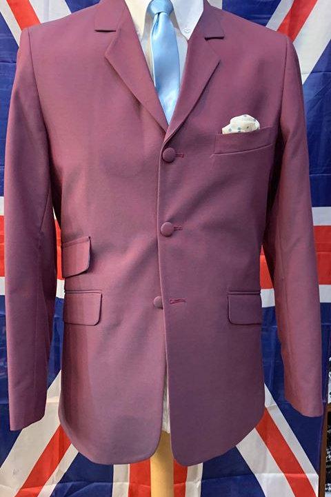 Sherry's Burgundy Tonic Suit