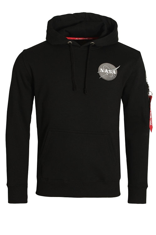 Alpha IndustiresLimited Edition NASA Space Shuttle OTH Hoodie | Black