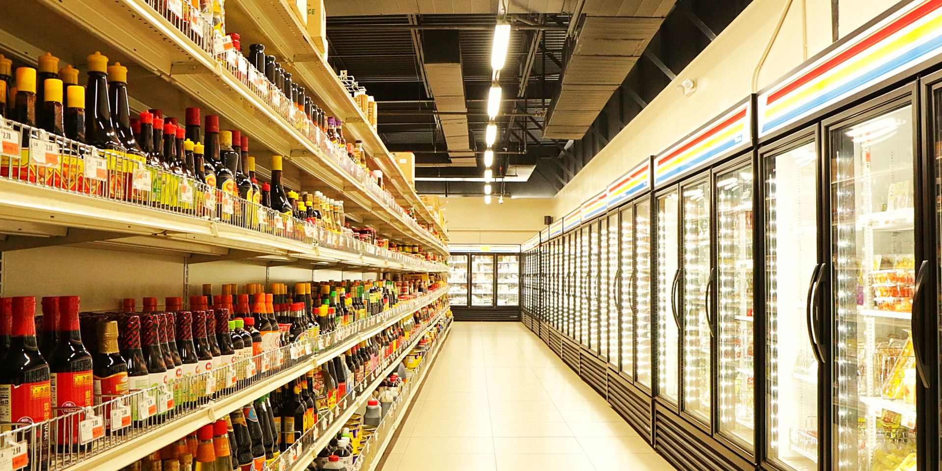 Asia Pacific Supermarket Interior