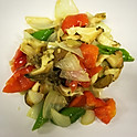 S36  Stir-Fried Curl Pepper with Conch 时价(Market Price)