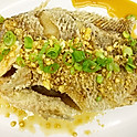 S6 Fried Tilapia with Special Garlic Sauce