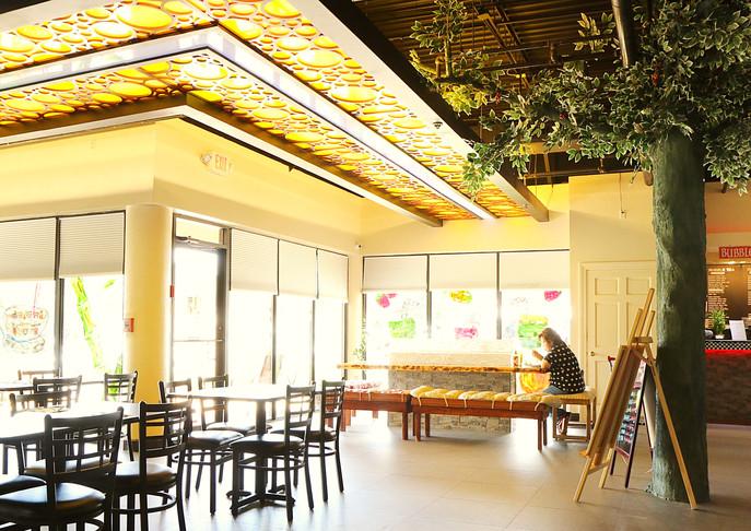 Asia Pacific Restaurant Interior