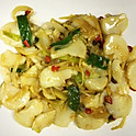 S38 Stir Fried Ginger and Scallion Scallops
