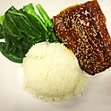 S14 Barbequed Eel with Rice and Vegetable