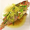 A47Steamed Red Snapper With Ginger Scallion (Market Price)