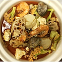 H10Seafood Hot Pot With Chili Sauce