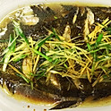 A44Steamed Flounder With Ginger Scallion (Market Price)