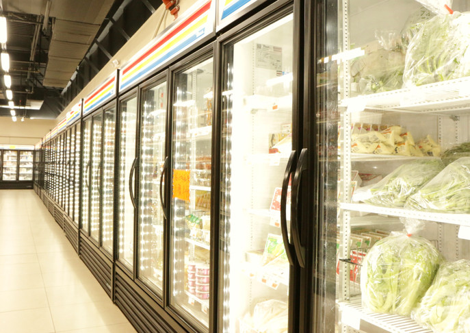 Asia Pacific Supermarket Interior