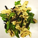 A86 Curl Pepper Stir-Fried with Octopus