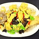 S33Stir-Fried Flounder Fish时价(Market Price)