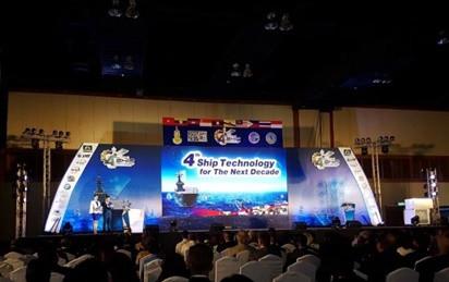 ออกบูธประชาสัมพันธ์ ผลิตภัณฑ์ ECOMARINE งาน Ship technology ครั้งที่ 4 วันที่ 15-17 พฤศจิกายน 2560