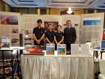 อีโคมารีน เข้าร่วมจัดงานนิทรรศการวิทยาศาสตร์ศึกษาครั้งที่ 1 ณ ห้องประชุมของกองทัพเรือไทย