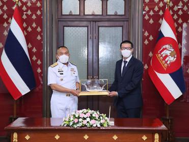 ASIMAR ลงนามรับจ้างต่อเรือลากจูง  กองทัพเรือ มูลค่ากว่า 285 ล้าน