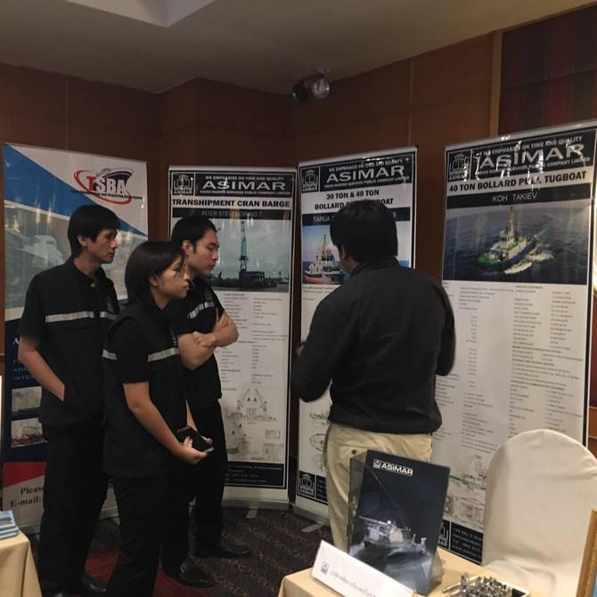 ASIMAR และ ECOMARINE ร่วมกับสมาคมต่อเรือและซ่อมเรือไทยนำเสนอผลงานการต่อเรือ