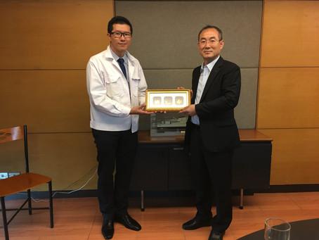 บริษัท DAEWOO SHIPBUILDING & MARINE ENGINEERING CO.,LTD.ประเทศเกาหลี เข้าเยี่ยมชมอู่