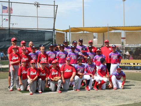 11U Reds in Silver Bracket Championship game at the MCYSA Summer International Championship