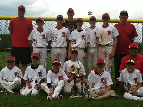 12U Red Team wins Aurora City of Lights Tournament